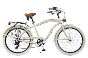 Via Veneto by Canellini Fahrrad Cruiser Homme Aluminium - Beige