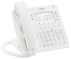 Panasonic KX-DT635NE Business Digital Terminal weiss