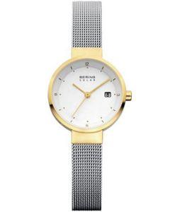 Bering Solar Collection 14426-010 Damenarmbanduhr flach & leicht