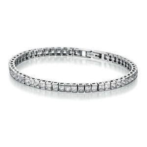Juwelier Wittig Armband Edelstahl Zirkonia Tennisarmband 72002010180