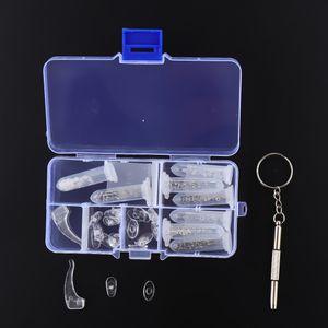 Brillenreparaturset Brillen Reparatur Kit Kunststoffscheibe Schrauben Muttern Perfekte Werkzeug für Brillen