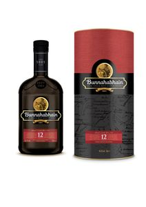 Bunnahabhain 12 Jahre Islay Single Malt Scotch Whisky in Geschenkpackung | 46,3 % vol | 0,7 l