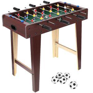 Tischkicker Tischfußball XL/XXL Kinder Erwachsene 5 Bälle 18/22 Spieler 9541, Größe:XL