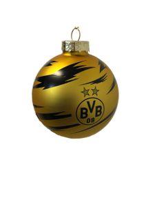 Borussia Dortmund BVB Weihnachtskugel 8 cm, Weihnachten, 20660300