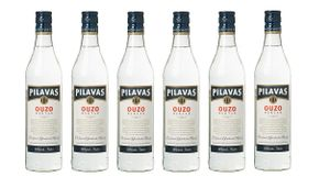 6x Ouzo Pilavas Nektar (700ml / 38%) - Der milde Ouzo aus Pilavas