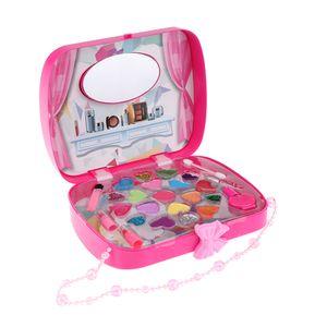 Rose Red Cosmetics Play Set Handtasche Mode Beauty Makeup Kit für Mädchen Spielzeug