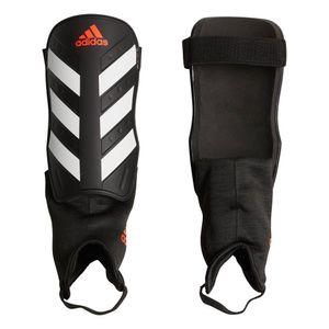 adidas Schienbeinschützer Everclub schwarz weiß rot, Größe:S (140-160)