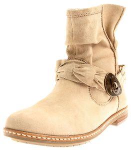 SPM Damen 7434 7432 Lederstiefelette Biker Stiefelette Lederschuhe Leder Boots