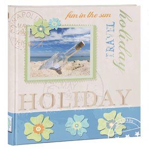 HENZO Fotoalbum BOTTLE - 80 Seiten - 30,5 x 30 cm - Bilderalbum - Jumboalbum - Album - Urlaubsalbum - Reisealbum