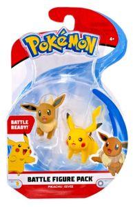 Pokémon Battle Figuren - Pikachu und Evoli (5cm)