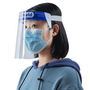 Transparenter schue tzender Gesichtsschutz Antibeschlag Winddicht Staubdicht Spritzschutz im Freien Kue chengesichtsschutz Schutzbrillen  für Labor, Haushalt, Küche Verwenden Sie Wasser Staub Nebel Visier Prävention