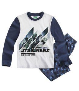 Star Wars  Schlafanzug  FB Blau/Marine Gr. 116