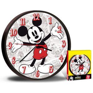 Disney uhr Mickey Mouse junior 25 cm rot/grau