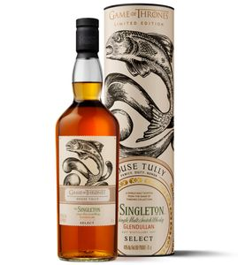 Singleton of Glendullan Select House Tully Game of Thrones GoT Limited Edition Single Malt Scotch Whisky | 40 % vol | 0,7 l