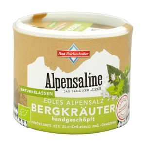 Alpensaline Bergkräuter 90g Dose