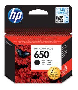 HP 650, Schwarz, HP DeskJet Ink Advantage 2515, 2516., Box