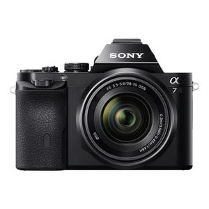 Sony Alpha 7 K (28-70mm) Digitale Systemkamera schwarz