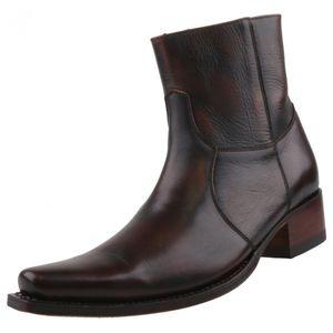 Sendra Boots Stiefelette 5200 braun, Schuhgröße:EUR 42
