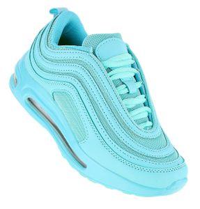 Art 847  Neon Luftpolster Turnschuhe Schuhe Sneaker Sportschuhe Neu Damen, Schuhgröße:39