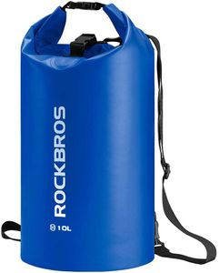 ROCKBROS 30L Blau Dry Bag Tasche Seesack für Wassersport, Strand, Schwimmen Boot Kajak Rafting  Outdoor