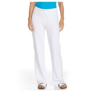 Coolibar - UV- Strandhose Damen - weiss, XL