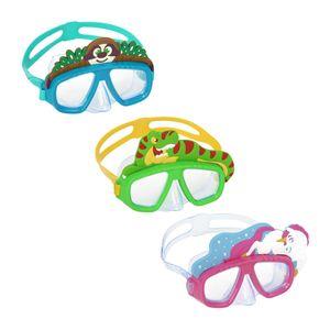Bestway 22064, Kinder, Halbe Gesichtsmaske, Polycarbonat, Gemischte Farben, 3 Jahr(e), EN 16805/ASTM F963