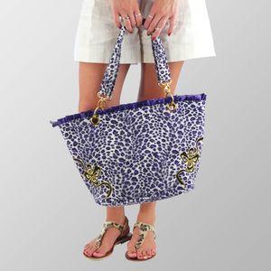Fancy Leopard Vintag Retro Handtasche