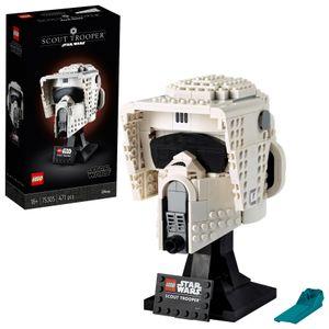 LEGO 75305 Star Wars Scout Trooper Helm Bauset für Erwachsene, Deko, Geschenkidee, Modell zum Bauen und Ausstellen