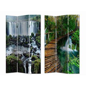 280131 Paravent Wasserfall HTI-Line