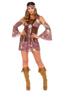 Kostüm Hippie für Damen