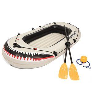 Bestway Schlauchboot Battle Bomber für 1 Erwachsenen + 1 Kind 188 x 98 x 30 cm