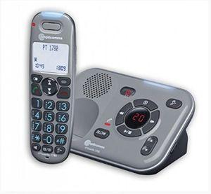 Audioline PowerTel 1780 DECT/Grosstasten/AB - Telefon - Anrufbeantworter