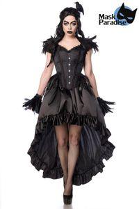 Gothic Crow Lady schwarz L