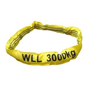 Rundschlinge gelb, Tragkraft 3000 kg,  4,0 m