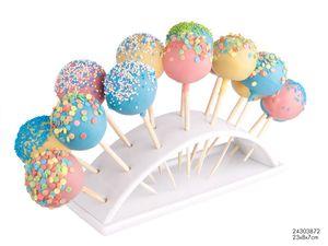 ORION Cakepopständer Ausstellungsständer für 14 Stück CAKEPOPS und LUTSCHER