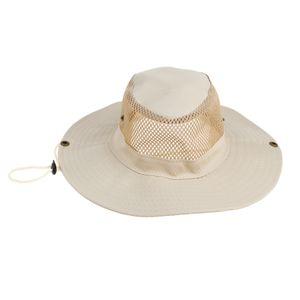 Fischerhut Fischermütze Atmungsaktiv Sonnenhut Outdoor Mütze Sommer Buschhut Farbe Beige