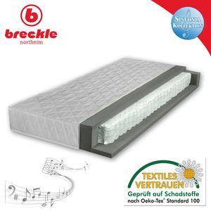Breckle Sinfonia 300 TFK H2 Taschenfederkernmatratze, Härtegrad:H2, Größe:90x200 cm