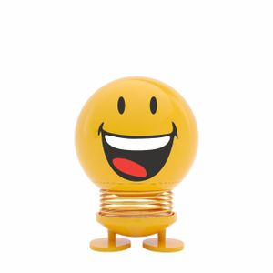 Hoptimist Smiley Joy, Emoticon, Wackelfigur, Deko- / Spielidee, Kunststoff, Gelb, 9151-20