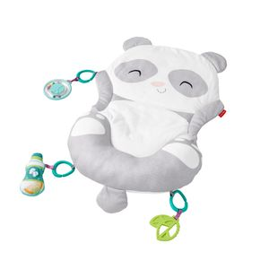 Fisher-Price 2-in-1 Panda Spielmatte mit Spielkissen, Bauchlage, Baby-Spielzeug