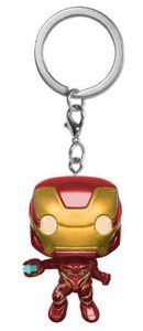 Iron Man Bobble-Head Schlüsselanhänger (4cm) Marvel Avengers Infinity War Keychain