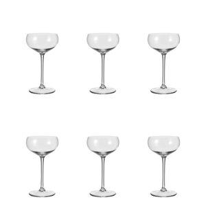 Leonardo Cheers Sektschale 6er Set Sektglas Champagnerglas Glas 315 ml 19987