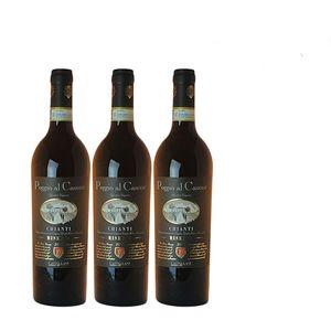 Rotwein Italien Chianti Riserva trocken (3 x 0,75l)