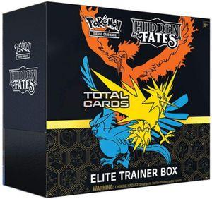 Pokemon Elite-Trainer-Box  'Hidden Fates' englisch
