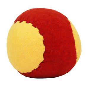 Leder Jonglierball Kickball Orange Gelb 3er Set