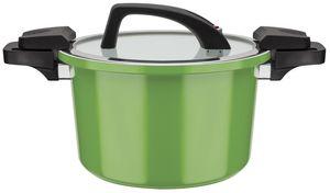 Energiespartopf Ceramica Green 24cm, 6 Ltr.