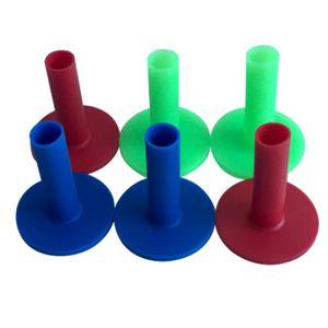 6 Packungen Gummi Golf Tee Halter Für Golf Driving Range Tee Practice 65mm Größe 65mm