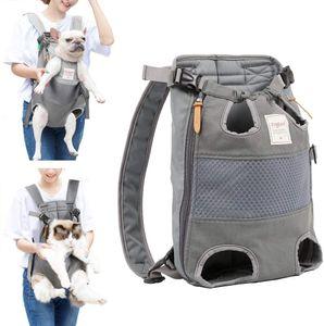 Rucksäcke für Hunde mittel große Hunde hundetragetasche hundetasche Verstellbarer transporttasche Rucksack für Wandern, Reisen, Camping, Unterstützung bis zu 12 kg