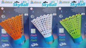 LED Federball sortiert grün, orange, weiß