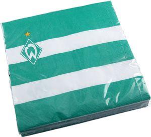 SV Werder Bremen Servietten, 20er-Pack