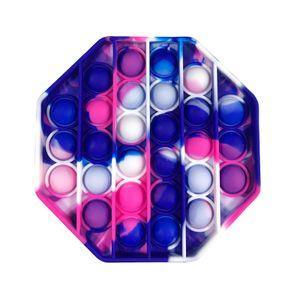 Achteck Push Pop It Pop Blase Sensorisches Zappeln Spielzeug Autismus Stressabbau Kinder Lernspielzeug
